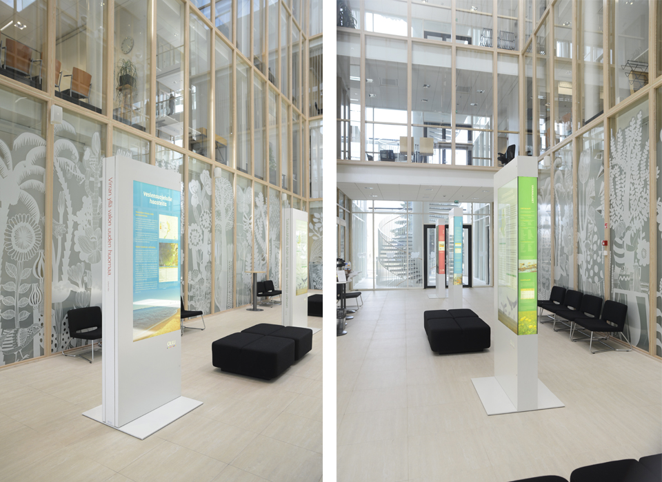 Ympäristön tila -näyttely - Mainostoimisto IOStudio | Studio Ilpo Okkonen