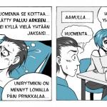Paluu arkeen - Sallamaarin Syrjän sarjakuva