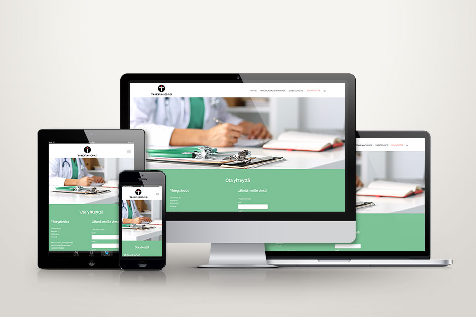 Visuaalinen ilme, logo, printti, web, valokuvaus & kuvankäsittely Thermidas Oy:lle - Mainostoimisto IOStudio | Studio Ilpo Okkonen
