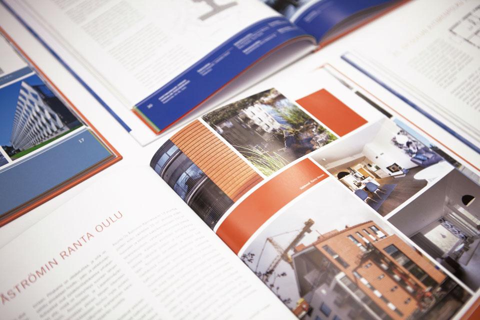 Printti, valokuvaus & kuvankäsittely Arkkitehtuuria Oulussa -kirjasarjaan - Mainostoimisto IOStudio | Studio Ilpo Okkonen